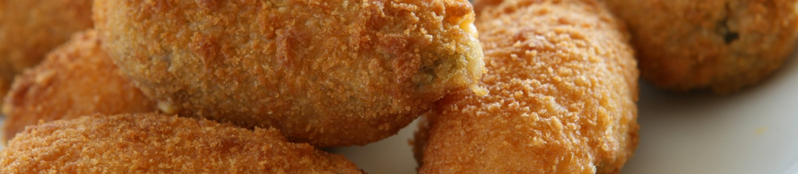 Fried Jalapenos Stuffed with Cheese